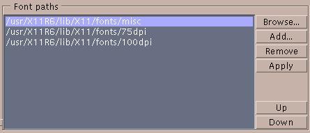 Xsetup help - Fonts